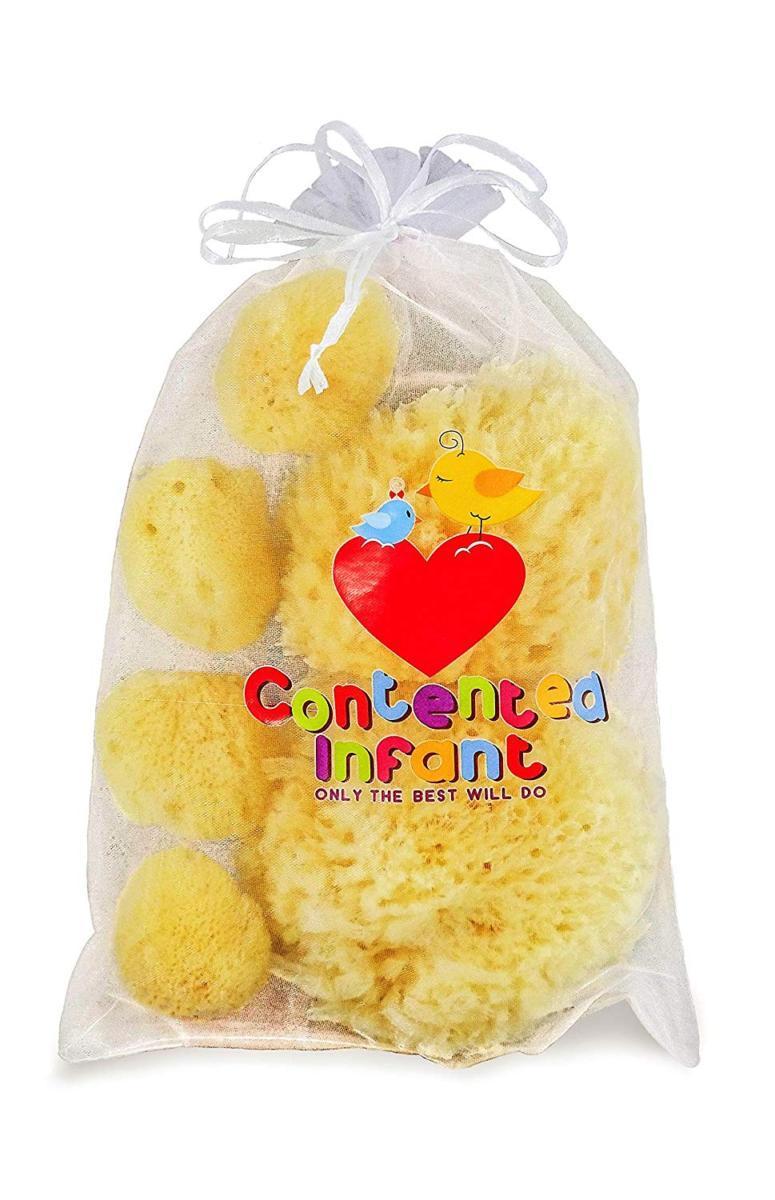 Contented Infant Natural Sponge- 6pk