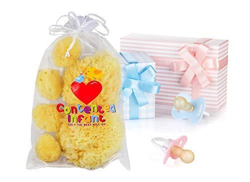 Contented Infant Natural Sponge- 6pk 7