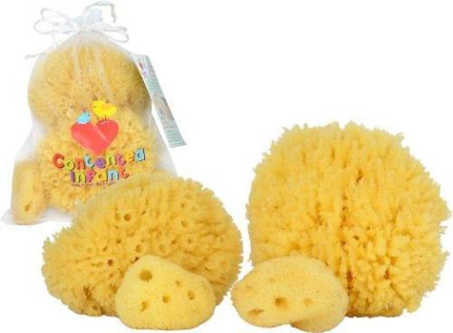 Contented Infant Natural Sponge- 4pk