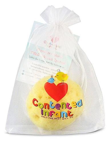 Contented Infant Fina Silk Sea Sponge pack